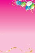 birthday poster images ; girly-party-poster-background