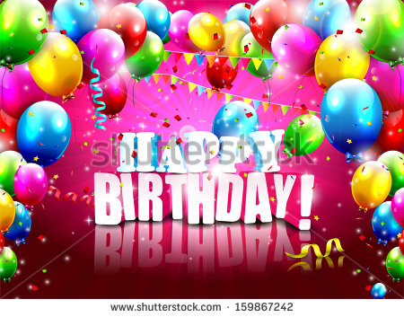 birthday poster images ; stock-vector-realistic-colorful-birthday-poster-with-balloons-and-d-text-vector-background-159867242
