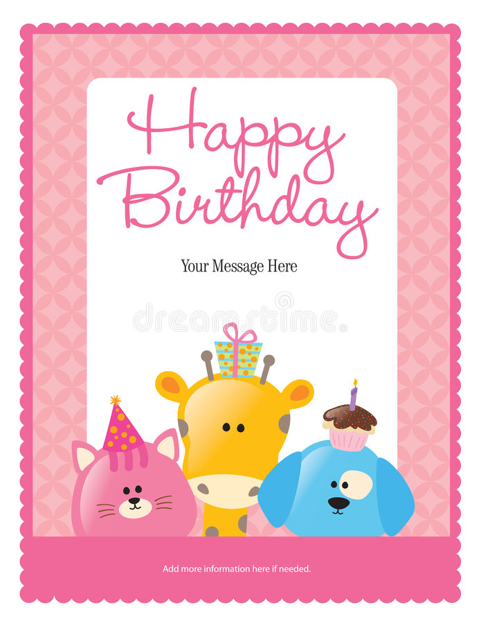birthday poster template ; 8-5x11-birthday-flyer-poster-template-9083035