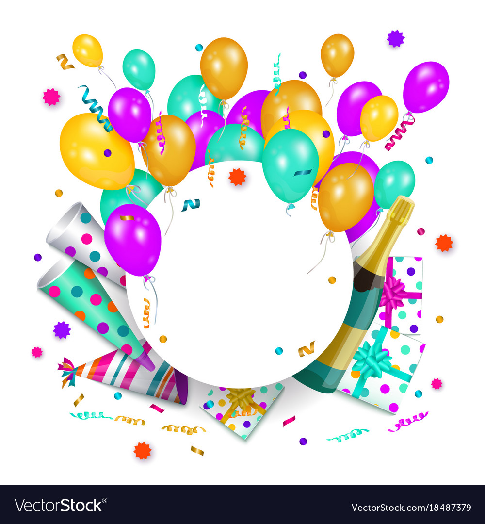 birthday poster template ; happy-birthday-banner-poster-template-vector-18487379