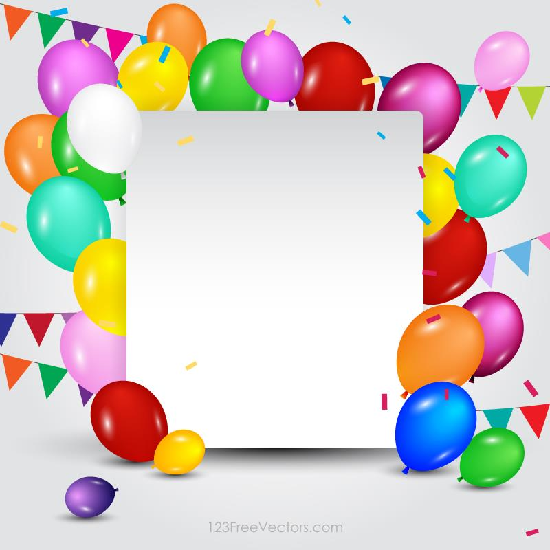 birthday poster template ; happy-birthday-card-template-vector-illustration-with-bunting-flags-and-colorful-balloons-for-your-birthday-party-celebration-posters-and-banners