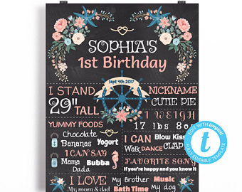 birthday poster template ; il_340x270
