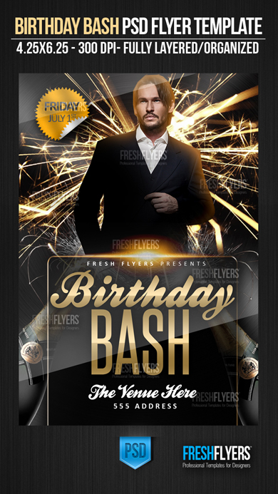 birthday poster template psd ; free-birthday-flyer-templates-birthday-bash-psd-flyer-template-flyer-templates-flyer-download