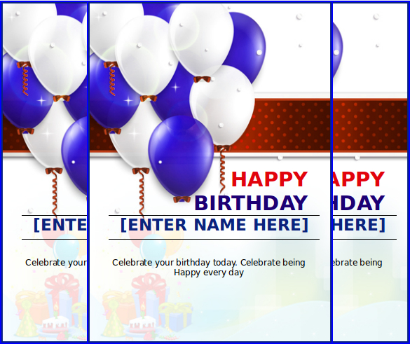 birthday poster template word ; MS-Word-Format-Happy-Birthday-Celebration-Card-Free-Download