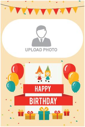 birthday posters with photo ; 20_5_58