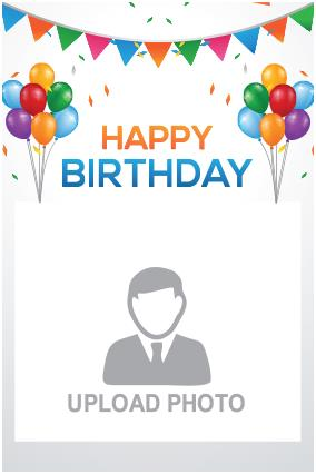 birthday posters with photo ; 21_4_27