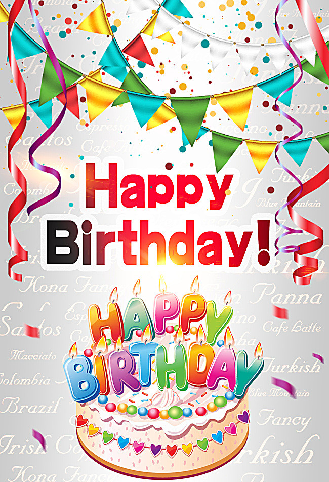 birthday posters with photo ; 6857efa68cd23e0