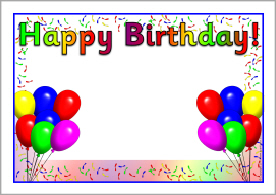 birthday posters with photo ; pp144b4604_02