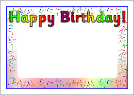 birthday posters with photo ; pp2147d238_02