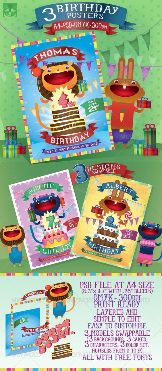 birthday posters with pictures ; 33ea9c4dd76e86ff8aae06193c84befe
