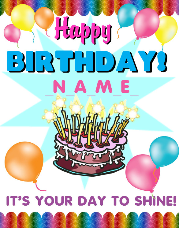 birthday posters with pictures ; 498463342-birthday-poster