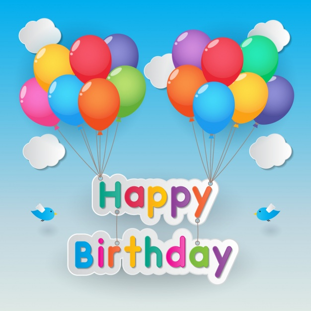 birthday posters with pictures ; poster-happy-birthday-with-balloons_1214-148