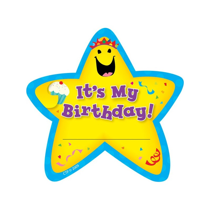 birthday stickers ; it-s-my-birthday-stickers-ctp1075