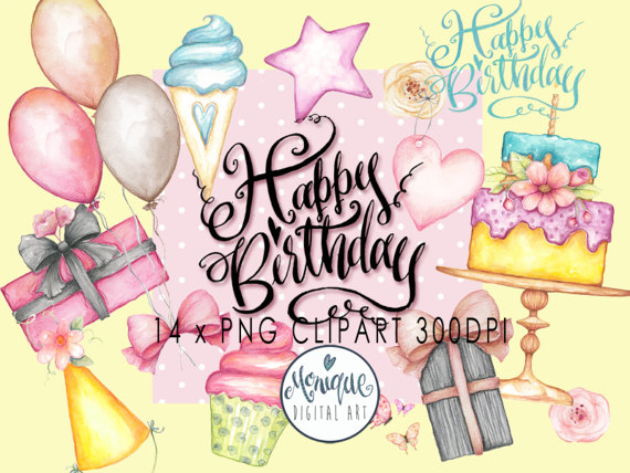 birthday stickers download ; il_570xN