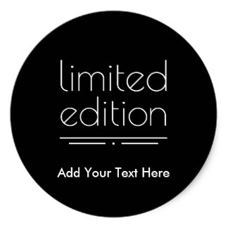 birthday stickers for best friend ; limited_edition_you_are_one_of_a_kind_classic_round_sticker-r7738261960064f1ea23441d868bd9b0e_v9wth_8byvr_324