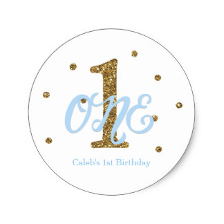 birthday stickers for boys ; blue_gold_boys_one_1st_birthday_party_favor_classic_round_sticker-r8a3e96c2c46441e5923f014d4b601038_v9waf_8byvr_324