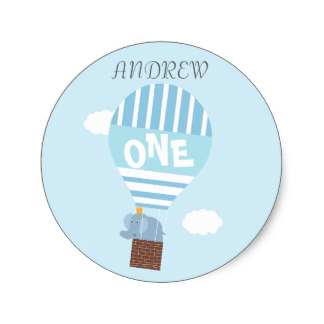 birthday stickers for boys ; boys_1st_birthday_hot_air_balloon_elephant_sticker-r813c4fb281ac44f0818a917ba95f3c95_v9waf_8byvr_324