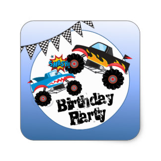 birthday stickers for boys ; monster_trucks_kids_boy_birthday_party_stickers-r62e7b3e1215a4f7bb6477ed29656c776_v9wf3_8byvr_324