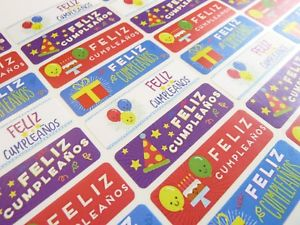 birthday stickers for cards ; s-l300