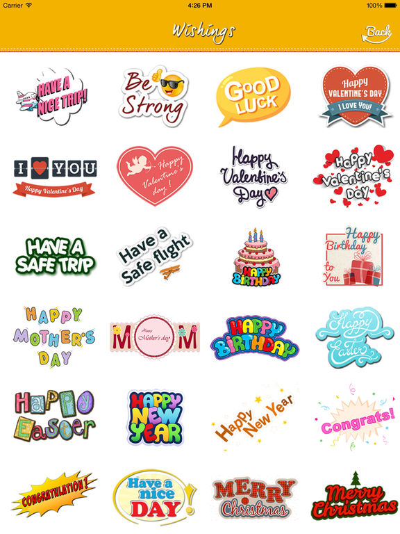 birthday stickers for messenger ; sc1024x768