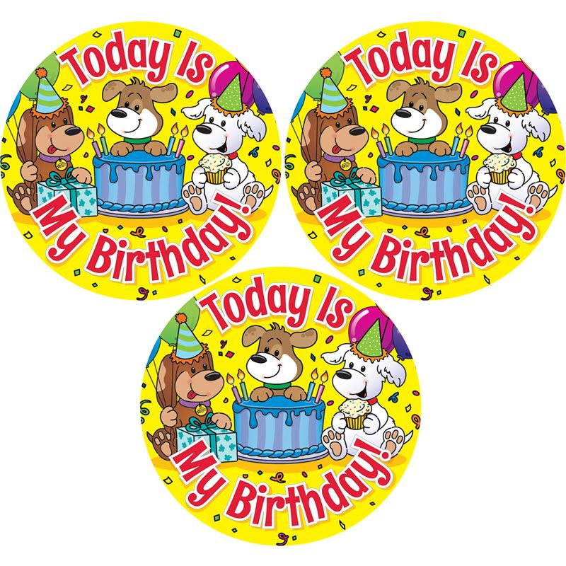 birthday stickers for pictures ; 903980