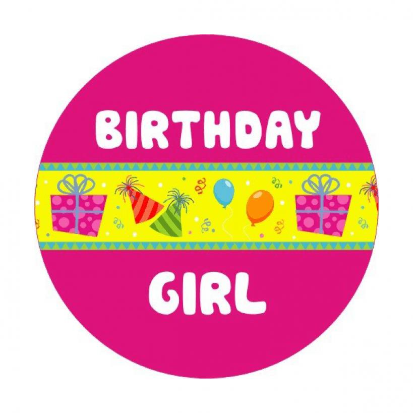 birthday stickers for pictures ; BDAY-GIRL-00
