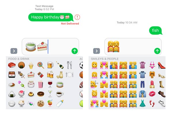 birthday stickers for text messages ; 3x-emoji-messages