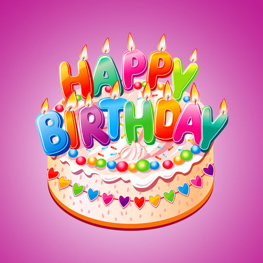 birthday stickers images ; 512x512bb
