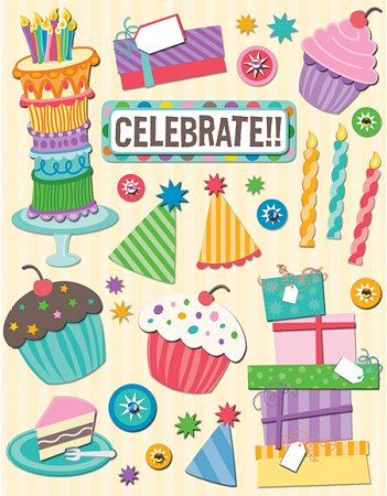 birthday stickers images ; kc401570