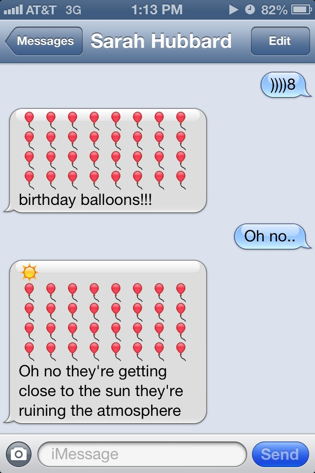 birthday text message images ; 1