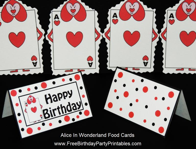 birthday theme cards ; Alice%2520In%2520Wonderland%2520Queens%2520Playing%2520Cards%2520Soldiers%2520Food%2520Label%2520Tent%2520Card%2520by%2520Free%2520Birthday%2520Party%2520Printables%25202