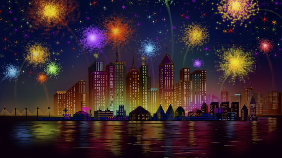 birthday wallpaper hd ; Happy-Birthday-Independence-Day-celebration-in-New-York-City-night-fireworks-US-HD-Wallpaper-3840x2400-915x515