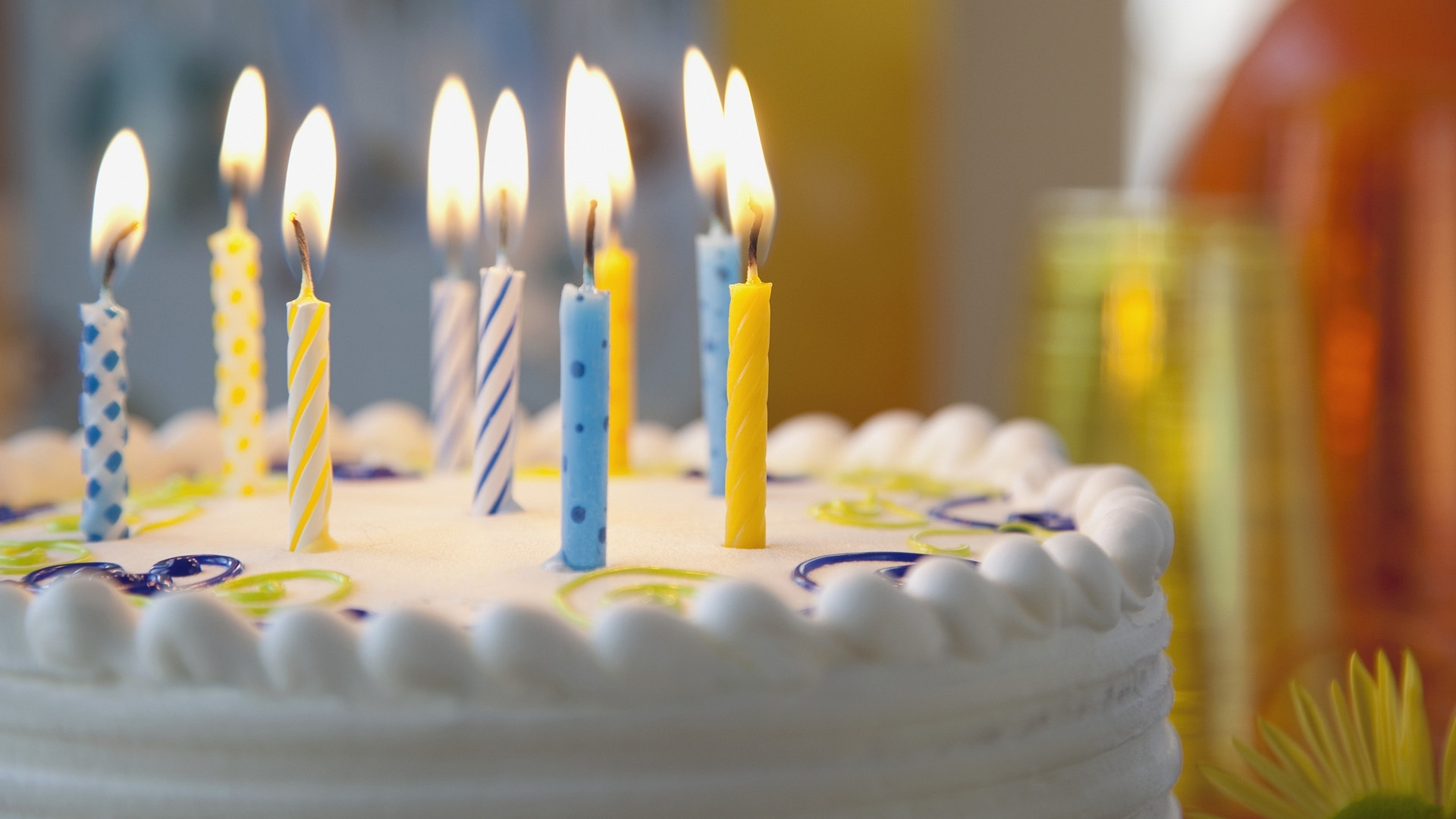 birthday wallpaper hd ; pie_candles_birthday_1371_1920x1080