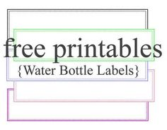 birthday water bottle labels template free ; 8d680535bf80e950d0f23de651a0536a--label-templates-stencil-templates