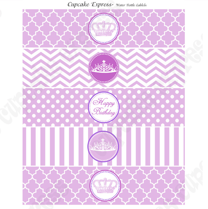 birthday water bottle labels template free ; Printable-Water-Bottle-Labels