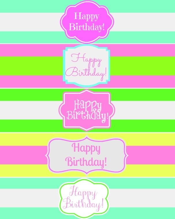 birthday water bottle labels template free ; free-printable-happy-birthday-water-bottle-label-wraps-mom-4-real-pertaining-to-free-water-bottle-label-template-birthday