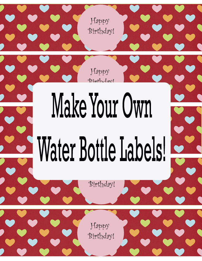 birthday water bottle labels template free ; water-bottle-labels-template-free-23