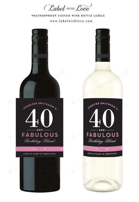 birthday wine label template free ; 3610f28716931052287ebfb7171d6fa4--printable-labels-free-printables