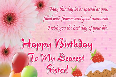 birthday wishes and images ; Birthday-Wishes-For-Sister