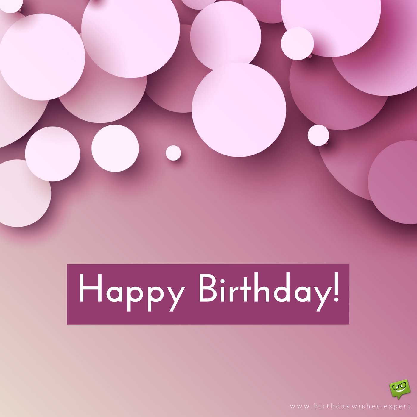 birthday wishes and images ; Birthday-wish-for-a-friend-on-modern-pink-background