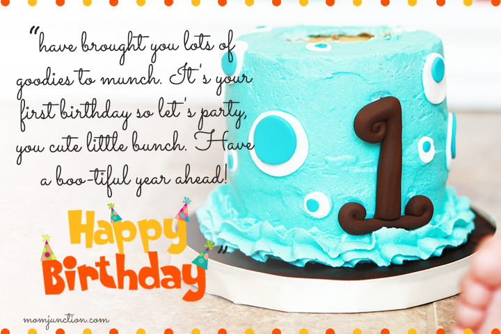 birthday wishes and images ; First-Birthday-Wishes-For-A-Niece1