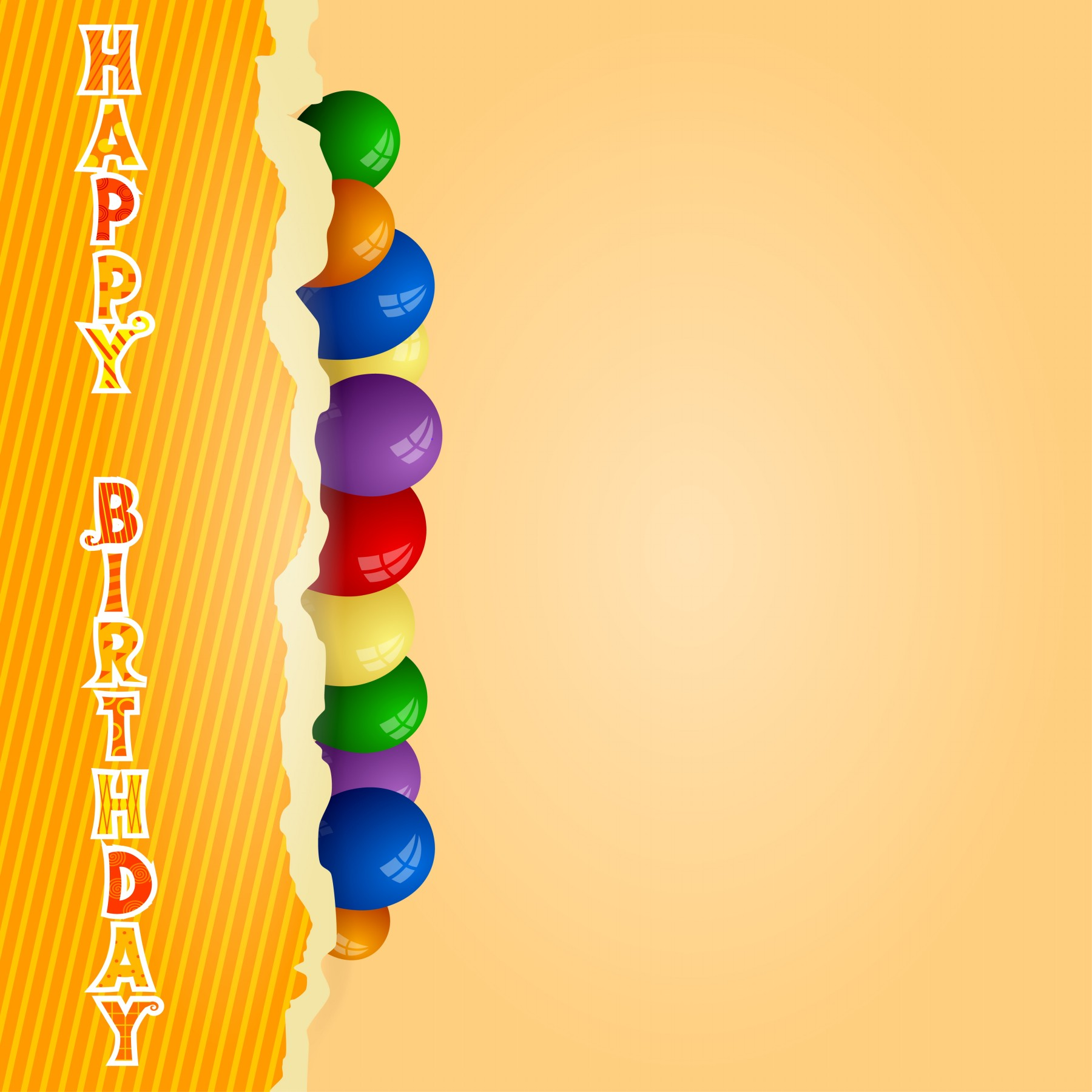 birthday wishes background wallpaper ; colorful-balls-image-hd-HBGS001216