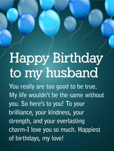 birthday wishes card for husband ; Husband-Birthday-Greetings-Card-Wishes-26