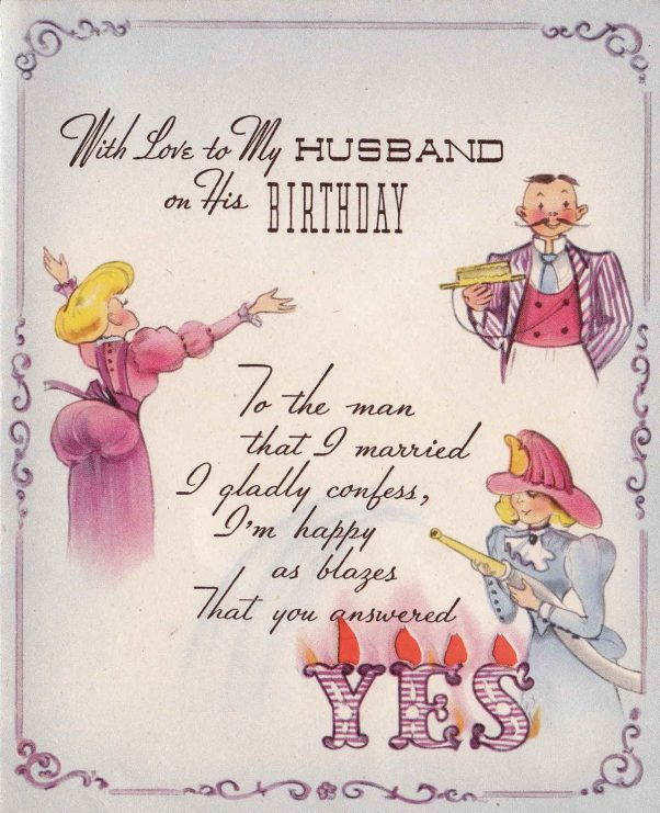 birthday wishes card for husband ; vintage-husband-birthday-wishes-card-602x741