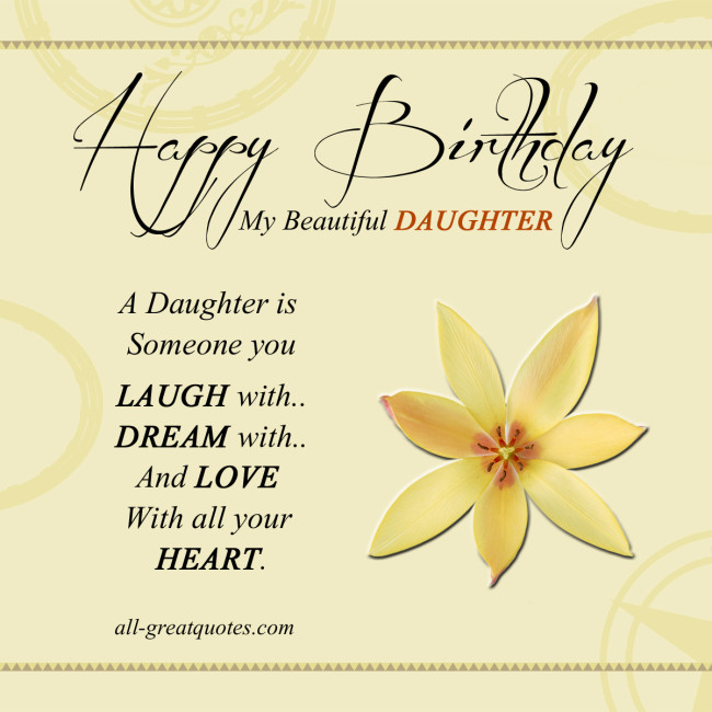 birthday wishes daughter greeting card ; fe0a4bbd3c2ad2279d9db1a24827c4f9
