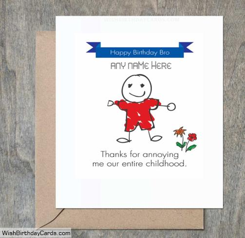 birthday wishes for brother greeting cards ; amazing-handmade-birthday-cards-for-brother-with-name8e4d