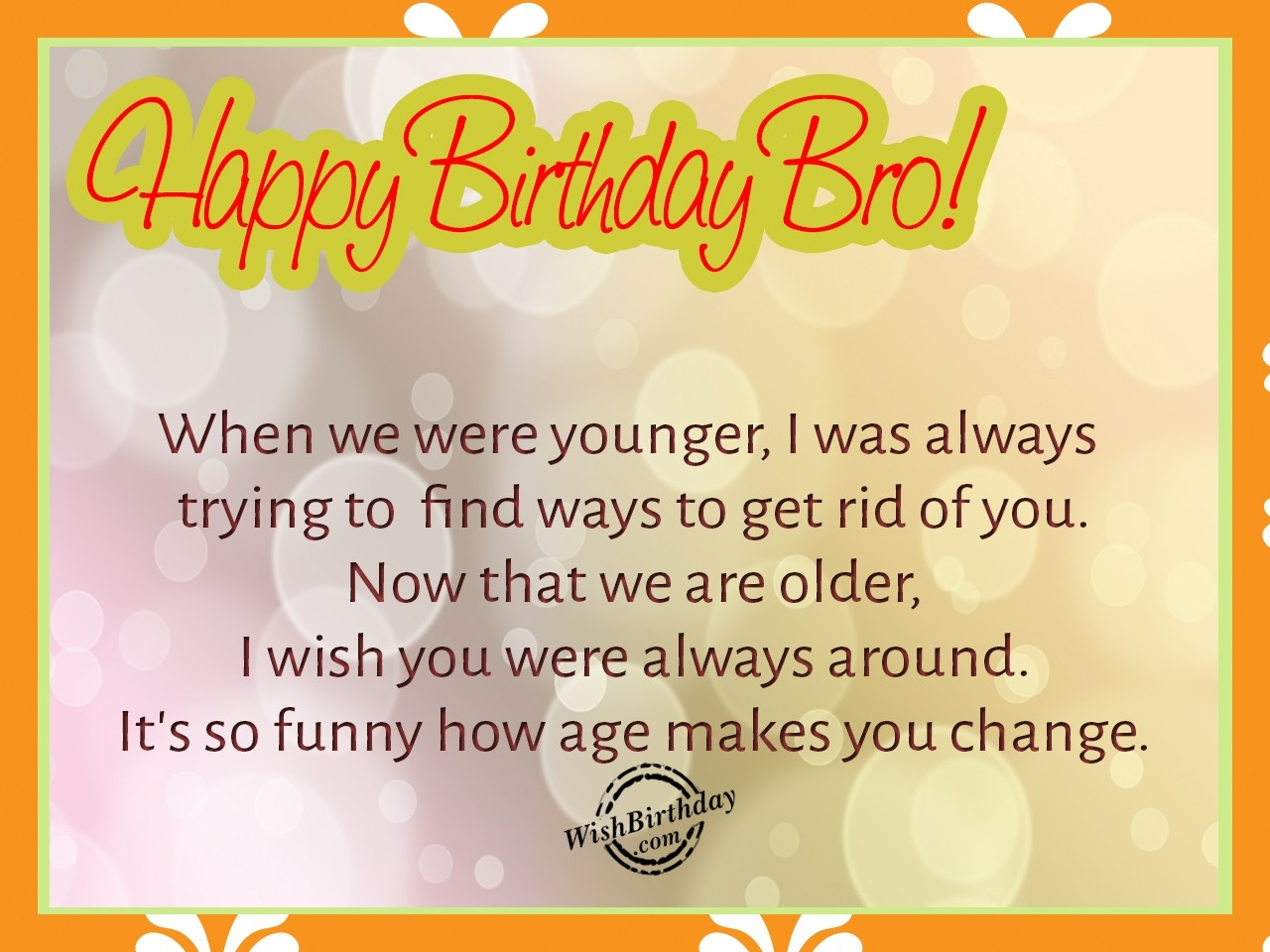 birthday wishes for brother greeting cards ; breathtaking-happy-birthday-wishes-for-gorgeous-brother-happy-birthday-with-regard-to-inspiring-happy-birthday-little-brother-quotes-inspiration