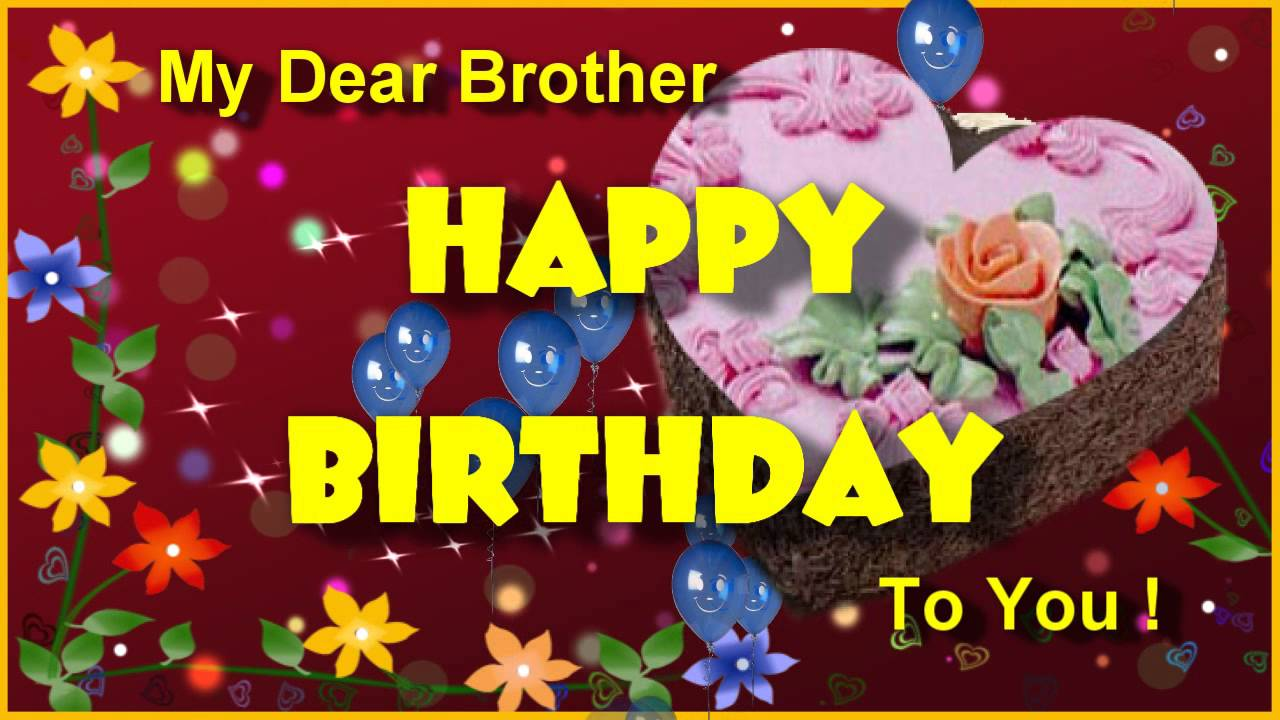 birthday wishes for brother greeting cards ; maxresdefault