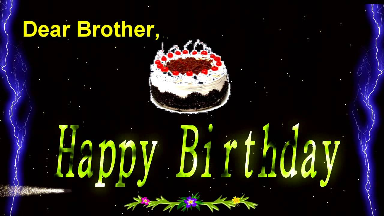 birthday wishes for brother wallpaper ; maxresdefault
