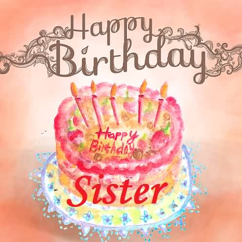 birthday wishes for sister greeting cards ; awesome-cake-birthday-wishes-for-sister-e-card